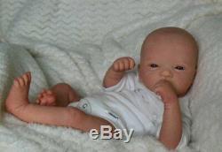 Reborn Collectable Baby doll art Newborn Art Fynn Elodie Wosnjuk