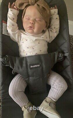 Reborn Doll Evelyn by Cassie Brace-SOLE