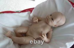 Reborn Doll Kit Pilar 20'' By Adrie Stoete Sold Out Limited Edition Coa
