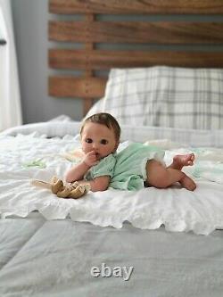 Reborn Doll Layla Lifelike Baby Girl Vinyl Doll