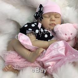 Reborn Dolls Cheap Baby Girl Realistic 22 Newborn Real Lifelike Floppy Head