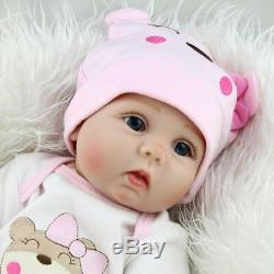 Reborn Dolls Twins Real Baby Doll Realistic Silicone Vinyl Lifelike Girl Dolls