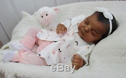 Reborn Ethnic AA Biracial Bellami by Samantha Gregory LTD ED BEAUTIFUL BABY GIRL