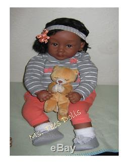 Reborn Ethnic/Biracial 25 Infant toddler Doll Ava Marie