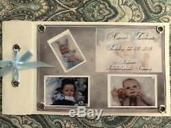 Reborn Ethon by Cassie Brace GORGEOUS mint baby boy