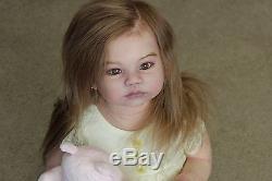 Reborn Girl Toddler Shania, Reborn artist Donnetta @ Kay's Nursery