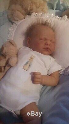 Reborn Handsome Ramsey by Cassie Brace reborn by Spirt Art Babies