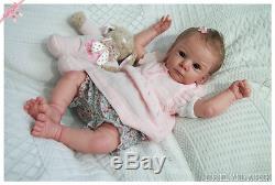 Reborn Mathis Gudrun Legler baby girl doll