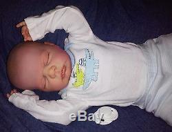 Reborn Newborn Baby Boy Harper 19 Anatomically Correct Custom Order