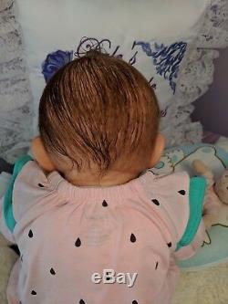 Reborn Olga Auer baby girl