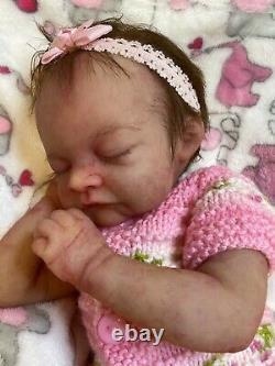 Reborn Partial Silicone Baby Aslyn