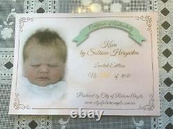 Reborn Preemie Kovu by Sabrina Hergarten Limited Edition COA 103/800