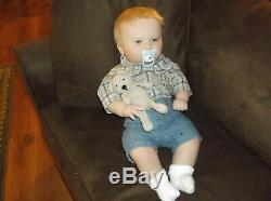 Reborn, Realborn Doll Joseph Awake Three Months, 7 Lbs, 11 Ounces