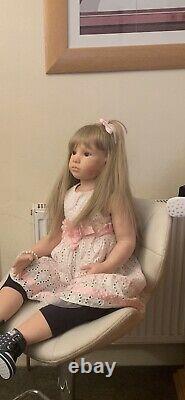 Reborn Toddler Age 3-4 Yr Old Oleonka By Natalie Blick Custom Order