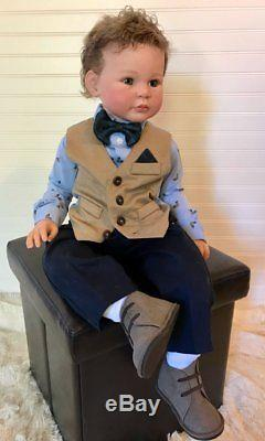 Reborn Toddler Boy Doll made from Lily Beth by Ann Timmerman Custom Order