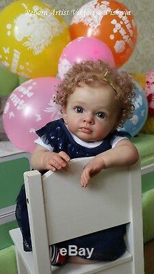 Reborn Toddler Tutti by Natali Blick LE 771\999 Artist Vishnya Viktoriya