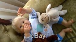Reborn Tori Ping Lau Toddler Artful OOAKUltraRARE Tracy Lister Artist Prototyp