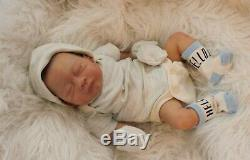 Reborn Tru Born Michael Preemie Baby Doll Limited Edition 46 of Only 100