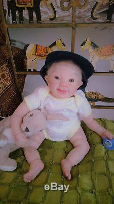 Reborn Ultra Realistic Prototype A Down Syndrome Vince by Lilianne Breedveld