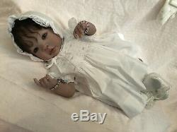 Reborn Vinyl Baby Girl Shyann Sculpt by Aleina Peterson Beautiful Baby
