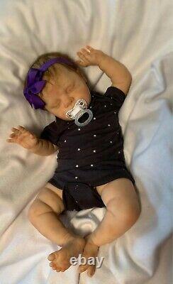 Reborn baby Ruby life like baby doll reail reborn baby girl doll Cassie Brice