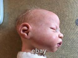 Reborn baby, Sandra white, Full limbs, realisti