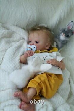 Reborn baby doll Christopher awake(Bountifulbaby)prototype reborn artist Nataliy