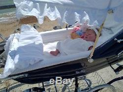 Reborn baby doll Evelyn a Cassie Brace Prototype Sculpt by Jacqueline Kramer