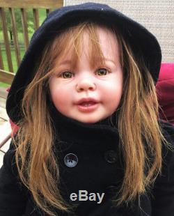 Reborn baby doll Toddler Katie Marie by Ann Timmerman. WATCH VIDEO