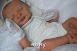 Reborn baby doll sculpt Ylenia reborn by artist Kelly Campbell