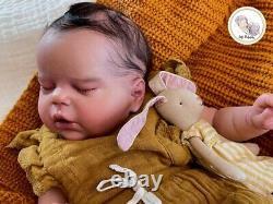 Reborn baby dolls full body silicone girl