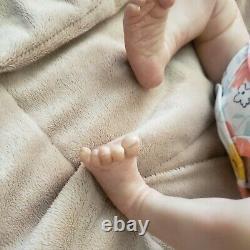 Reborn baby girl sleeping