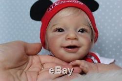 Reborn baby girlSunny by Joanna KazmierczakGolden Babies Nurserylimited