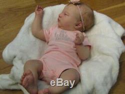 Reborn baby, realborn laila asleep, realistic baby, SO SWEET