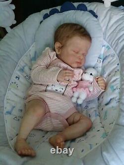 Reborn doll Genevieve by Cassie Brace, limite 461/800