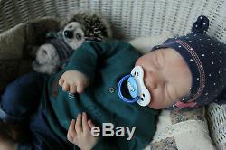 Reborn doll Levi Bonnie Brown, artist-Elena Radimich