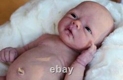 Reborn doll full body silicone baby girl by renown sculptor Alejandra De Zuniga