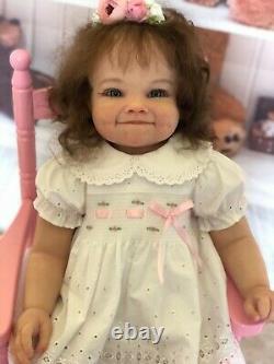 Reborn toddler girl Raya by Ping LauOrange Blossom Nursery
