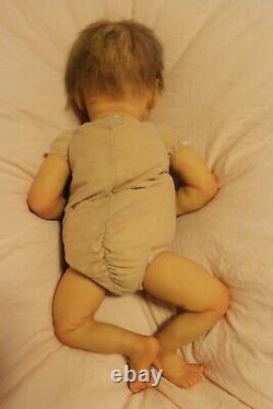 Reborn twin A bonnie brown(17,4lbs, 3/4 arms, full legs)