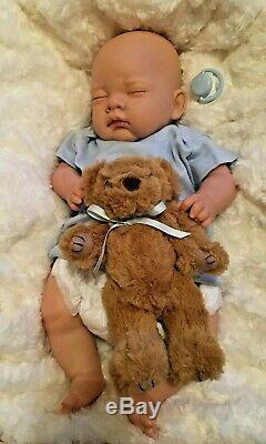 Reduced NEWBORN BABY Boy Child friendly REBORN doll cute Babies with Soft Toy