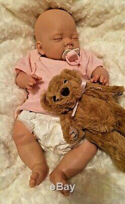 Reduced NEWBORN BABY Girl Child friendly REBORN doll cute Babies with Soft Toy