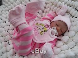 Reduced Sandra White & Sunbeambabies Lexi Reborn Baby Girl Soft Silicone Vinyl