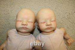 SOLD OUT reborn preemie twins aria toby morgan(17,3lbs, full limbs)RARE