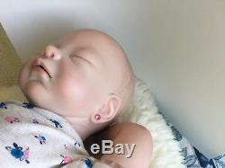 SPECIAL EDITION! Reborn baby girl, open mouth, amazing complexion