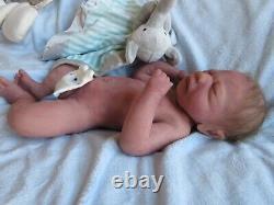 SUPER SOFT Full BODY SILICONE Baby BOY Doll MIKEY PROTOTYPE Preemie