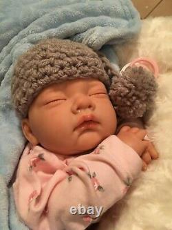 Samantha NEWBORN BABY Child friendly REBORN doll cute Babies