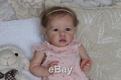 Saskia Bonnie Brown Reborn Baby