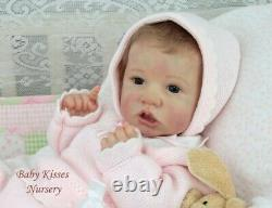Saskia by Bonnie Brown Reborn Fully Weighted Magnetic REALISTIC BABY DOLL