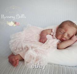 Silicone Aroha Prototype Gorgeous Realistic Newborn Baby Doll- Daniela Ardelean