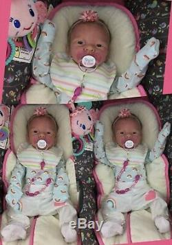Silicone Doll Full Body Baby Girl Charlie Elena Westbrook Boo Boo Soft Eco 20 LE